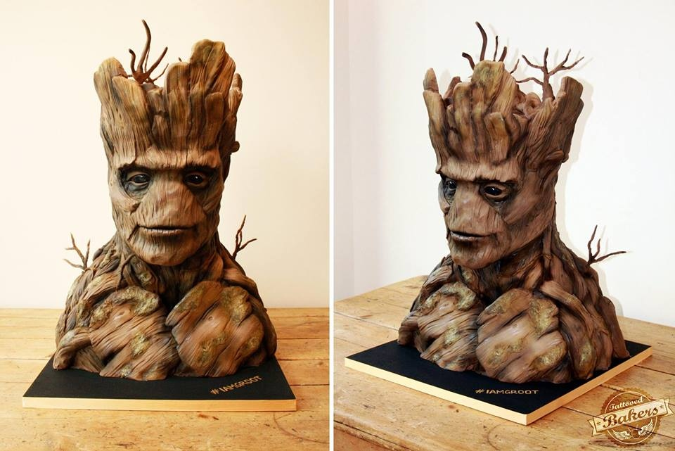 "Guardians of the Galaxy Groot Cake: ""I Am Dessert"""