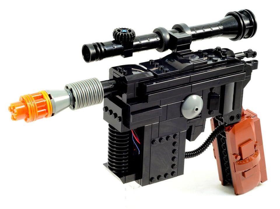 Han Solo's LEGO Blaster Hits LEGO Ideas