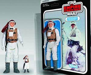 Jumbo Luke Skywalker and Wampa Action Figures