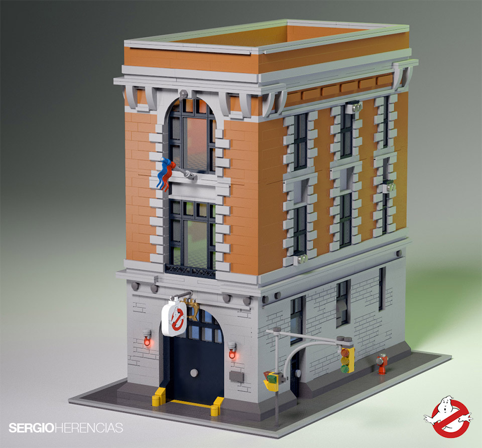 Ghostbusters HQ Models Pop up on LEGO Ideas