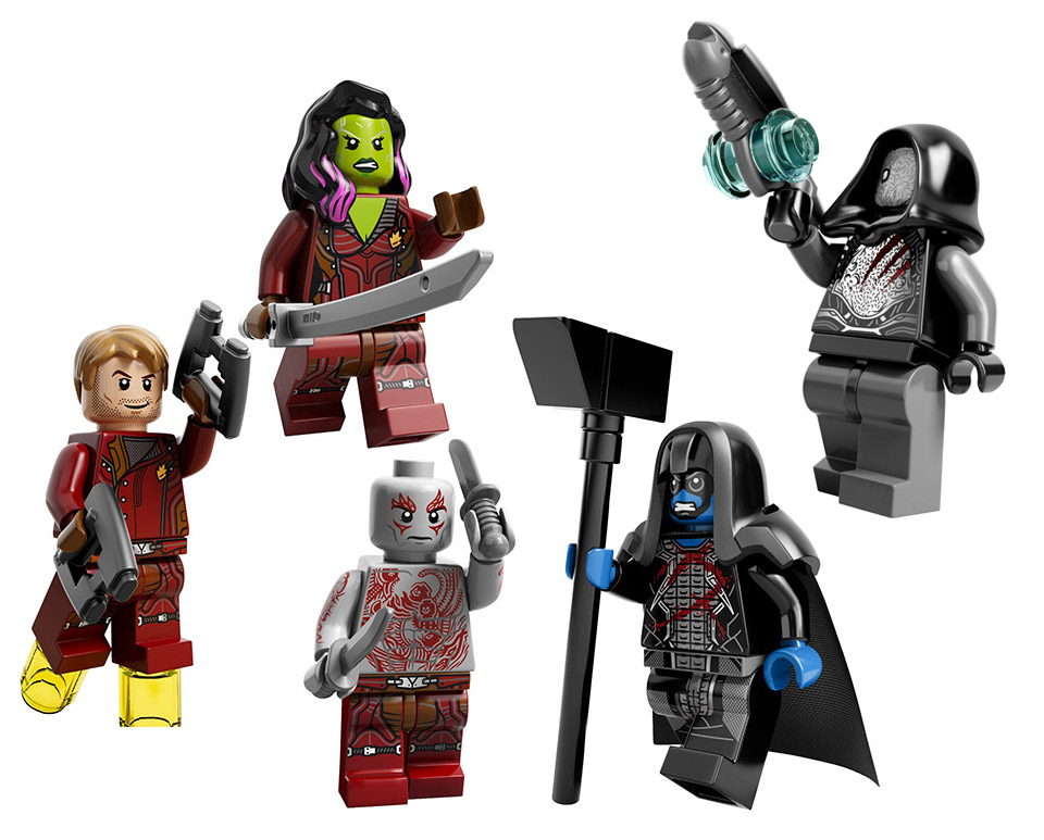 Guardians of the Galaxy: LEGO Milano Spaceship - MightyMega