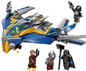 Guardians of the Galaxy: LEGO Milano Spaceship