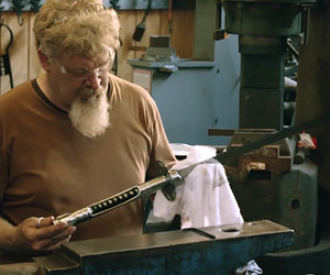 Forging the Lightsaber Katana