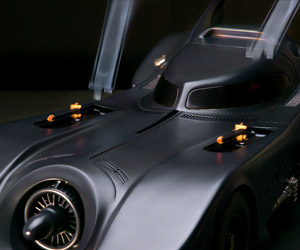 1989 Batmobile Gets Insane Mechanical Model