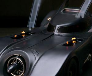 1989 Batmobile Gets Insane Mechanical Model