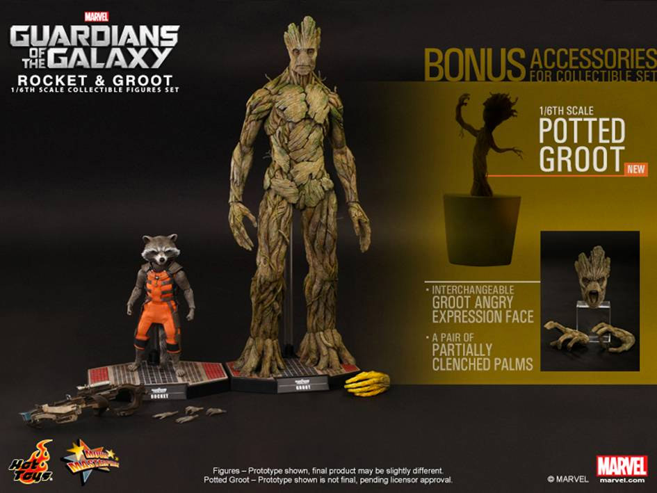 Dancing Potted Groot Collectible Bonus