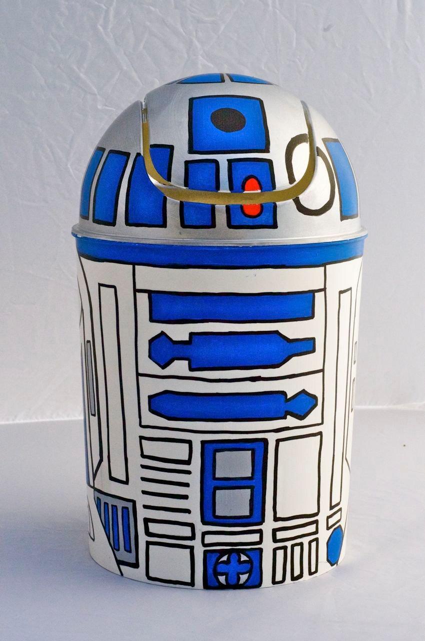 R2-D2 Mini Trashcan: You Were Already Thinking It
