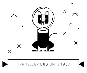 Animal Space Travelers Illustrations
