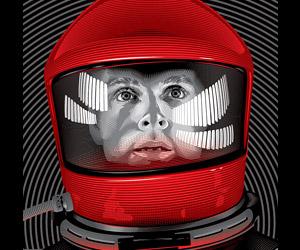 Spoke Art: A Tribute to Stanley Kubrick