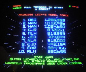 Own an Original Star Wars Atari Arcade Machine