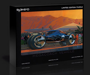 Syd Mead Limited-Edition Jigsaw Puzzles