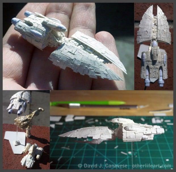 tiny_star_wars_papercraft_models_2