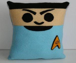 Star Trek Mini Felt Cushions: Cute, the Final Frontier