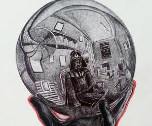 Darth Vader Meets M.C. Escher