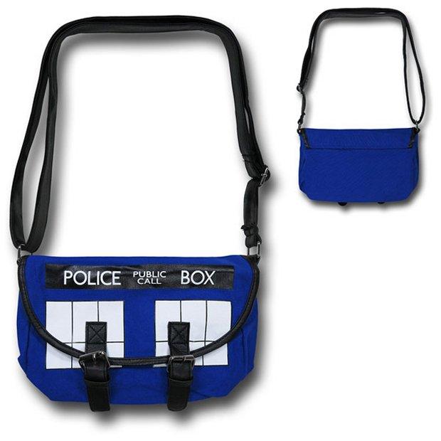 Doctor Who TARDIS Cross Body Bag