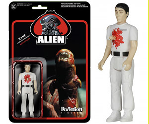 ReAction Alien, Facehugger, Chestburster Action Figures