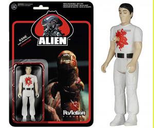 ReAction Alien, Facehugger, Chestburster Action Figures
