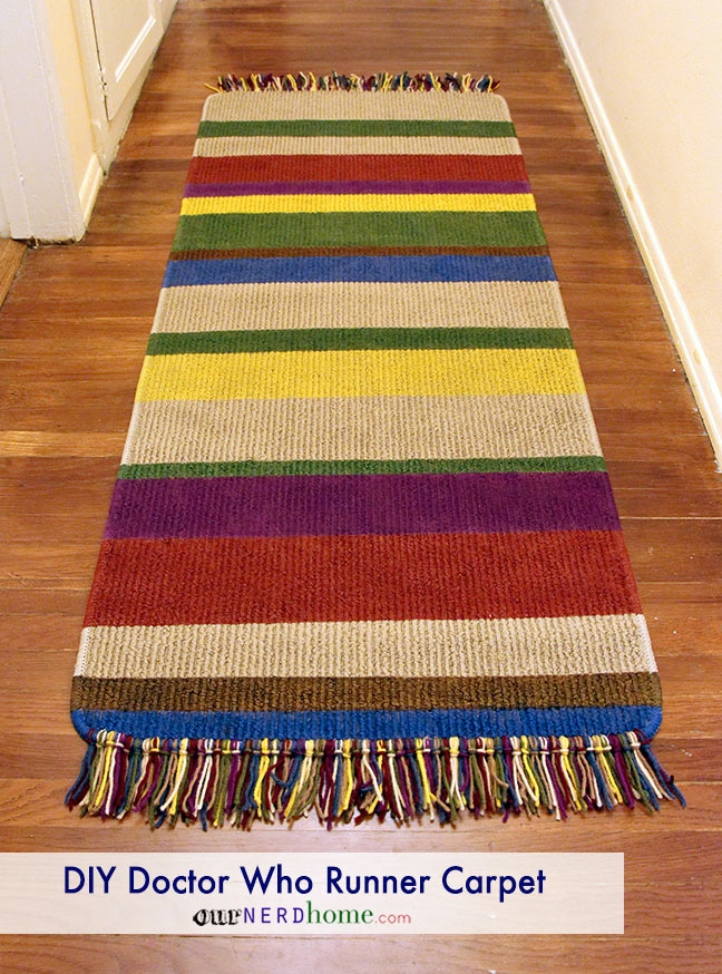 Doctor Who Fourth Doctor's Scarf Rug