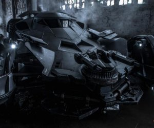 See the New Batmobile on Video