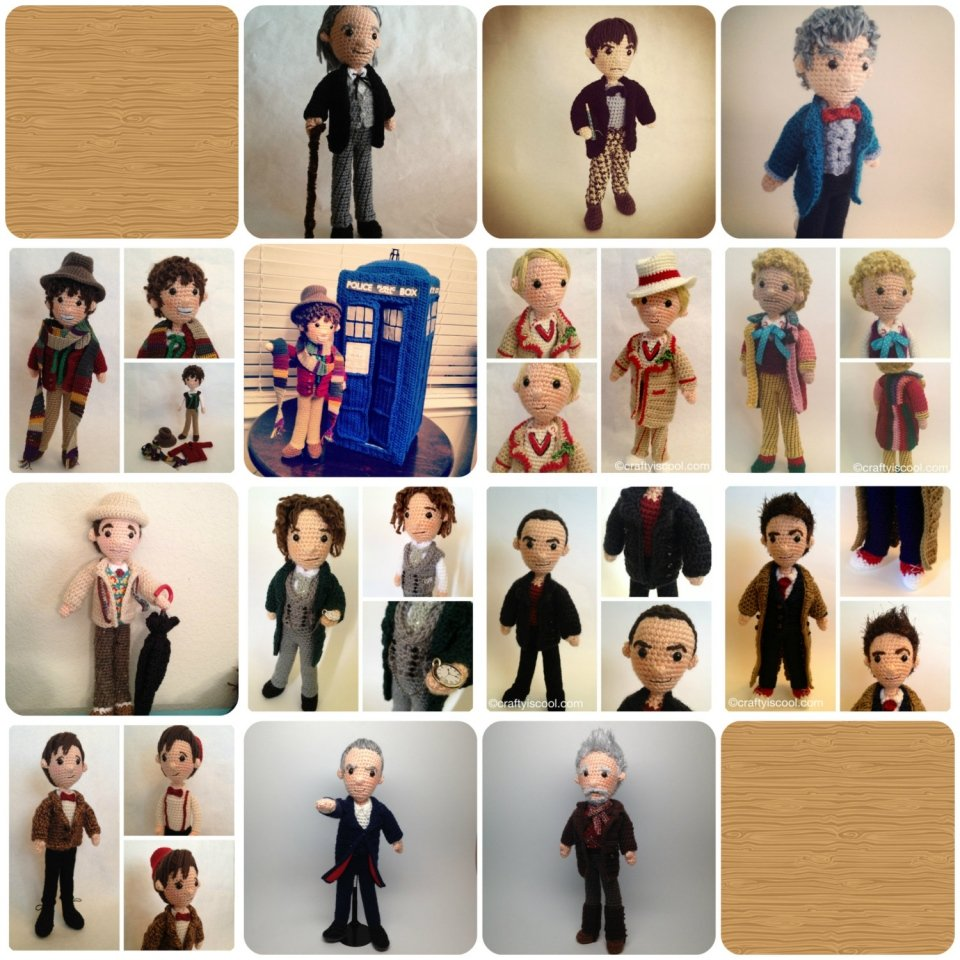 Doctor Who Amigurumi Crochet Pattern | killer_kitsch | Flickr | 960x960