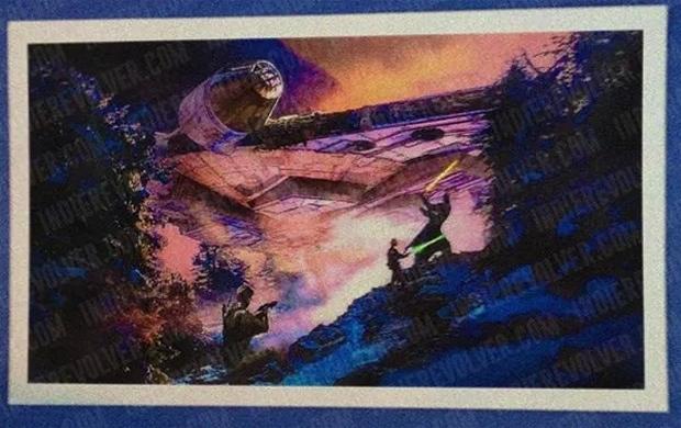 Concept Art for Episode VII Lightsaber Duel