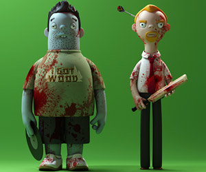 Cornetto Trilogy Toy Figures