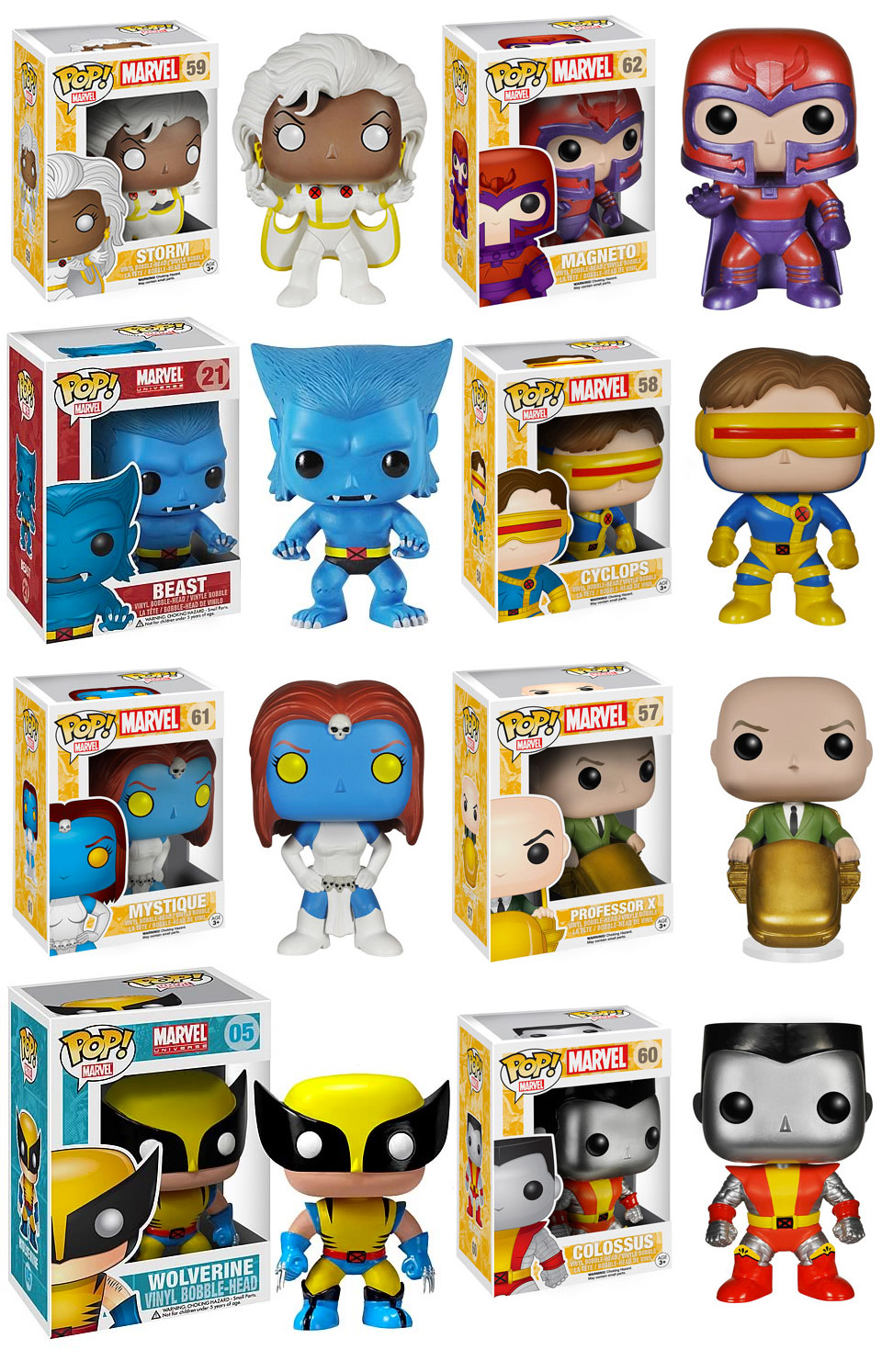 X-Men Classic Funko Pop! Figures