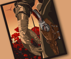 I Do Not Kill with My Gun: A Dark Tower Print