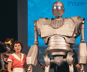 Epic Iron Giant Puppet Cosplay