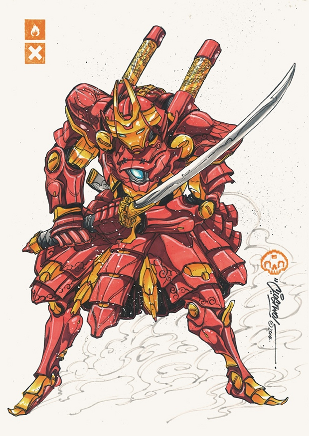 Iron Man in Samurai Armor