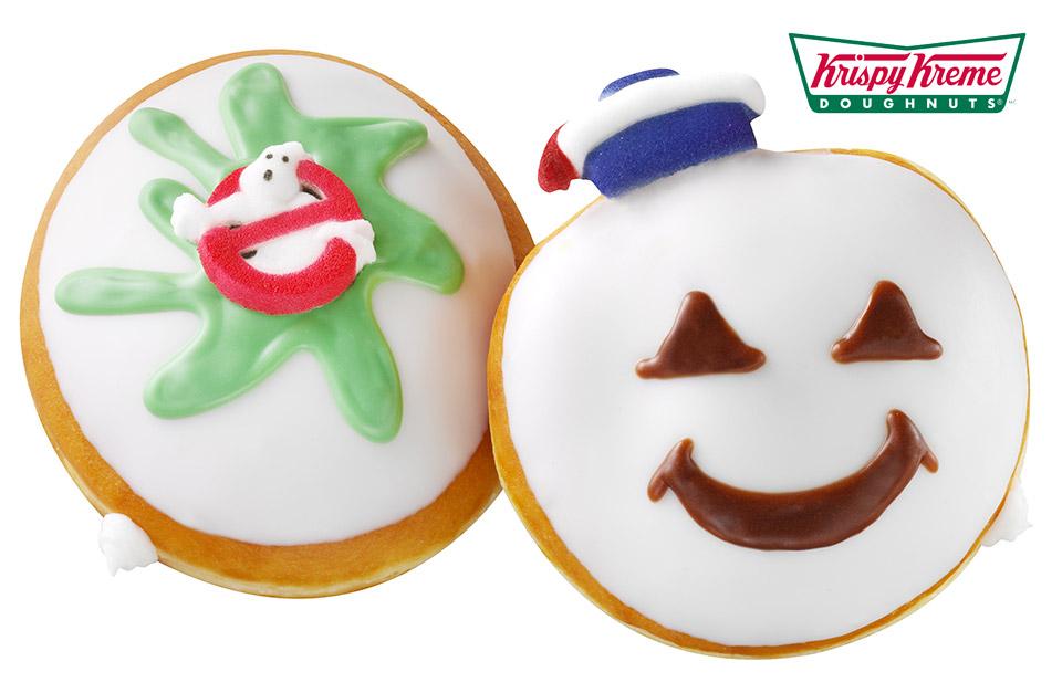 Krispy Kreme Ghostbusters Donuts