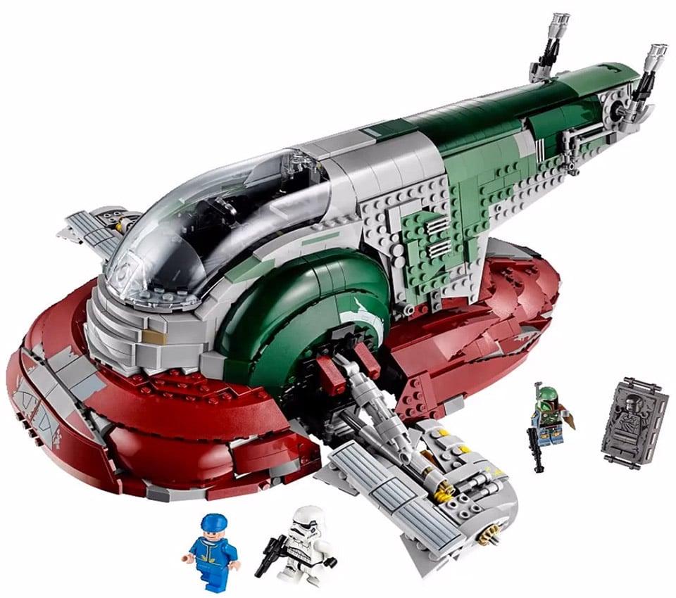 LEGO's Latest Boba Fett Slave I Ship