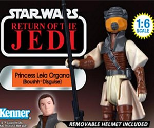 Jumbo Princess Leia in Boushh Disguise Figure