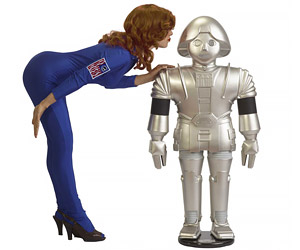 Full-Scale Buck Rogers Twiki Replica