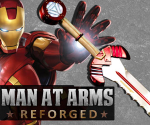 Man at Arms Reforged: Iron Man's Sword