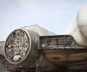 Episode VII Millennium Falcon Teased by J.J. Abrams