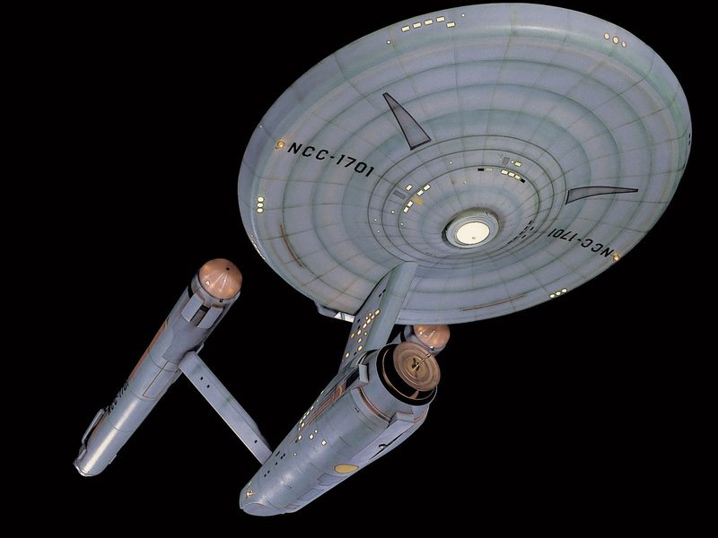 Original USS Enterprise Model to be Restored