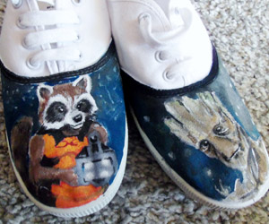 Rocket & Groot Shoes