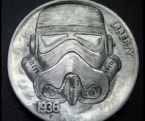 Geeky Hobo Nickels