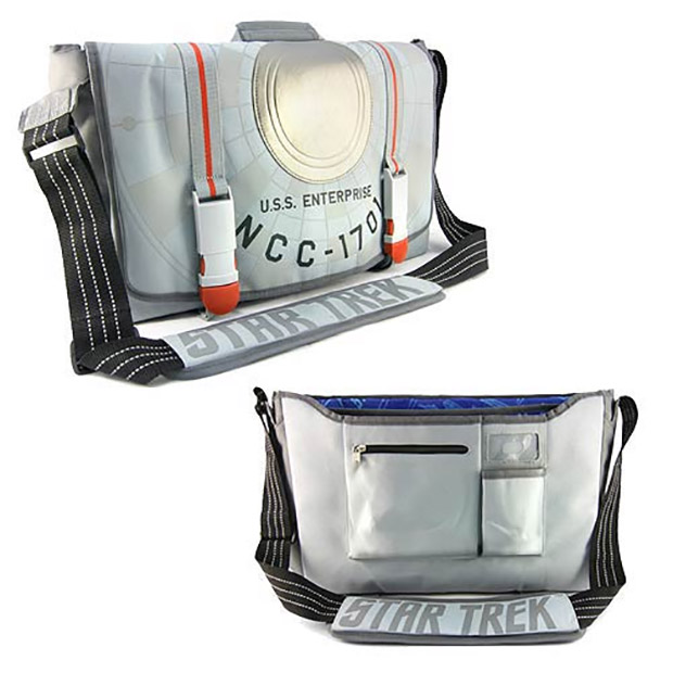 Star Trek Enterprise Messenger Bag