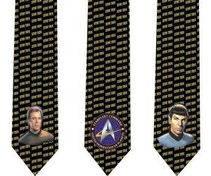Star Trek Skinny Ties