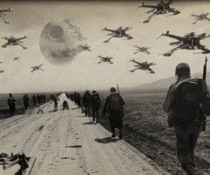 Star Wars Invades World War II Photos