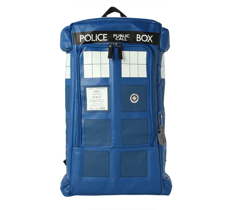 TARDIS Police Box Backpack