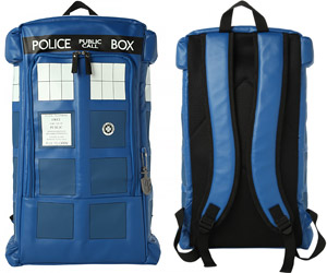 TARDIS Police Box Backpack