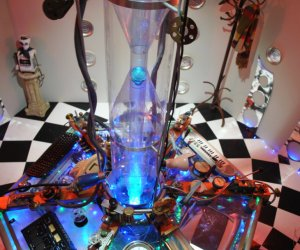 Guy Builds TARDIS Console in His Home