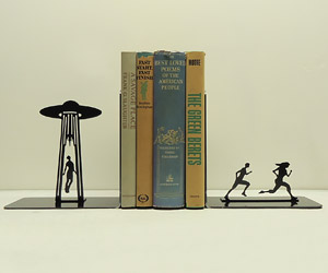 Alien Abduction Bookends