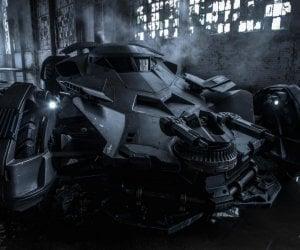 Zack Snyder Tweets Official Batmobile Image