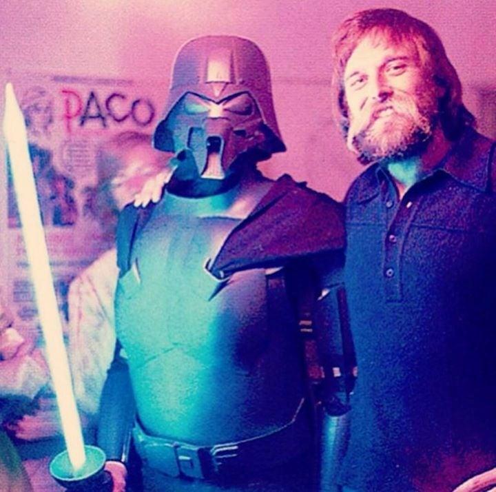 Joe Johnston Was Darth Vader for Halloween 1976