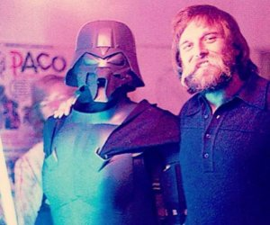 Joe Johnston Was Darth Vader for Halloween 1976