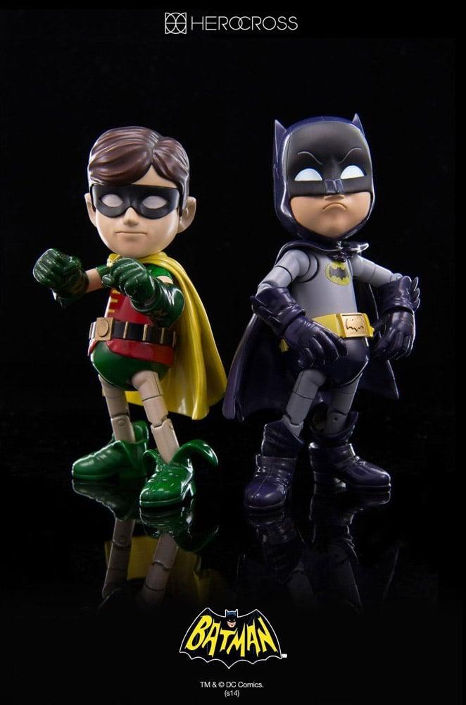 Hybrid Metal 1966 Batman & Robin Figures